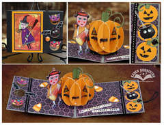 Ladybird Halloween Card