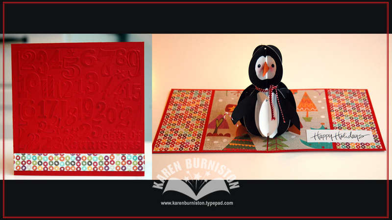 Pop-up Holiday Penguin Card