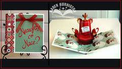 Pop-up Santa's Chair Card