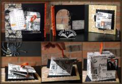 Spooky Twist Cube Card by Karen Burniston