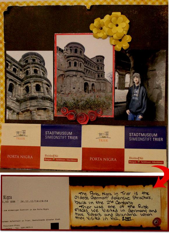 Left Page, Porta Nigra