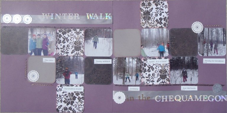 Winter Walk in the Chequamegon