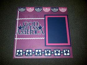 God Bless America by Steffany Ludena