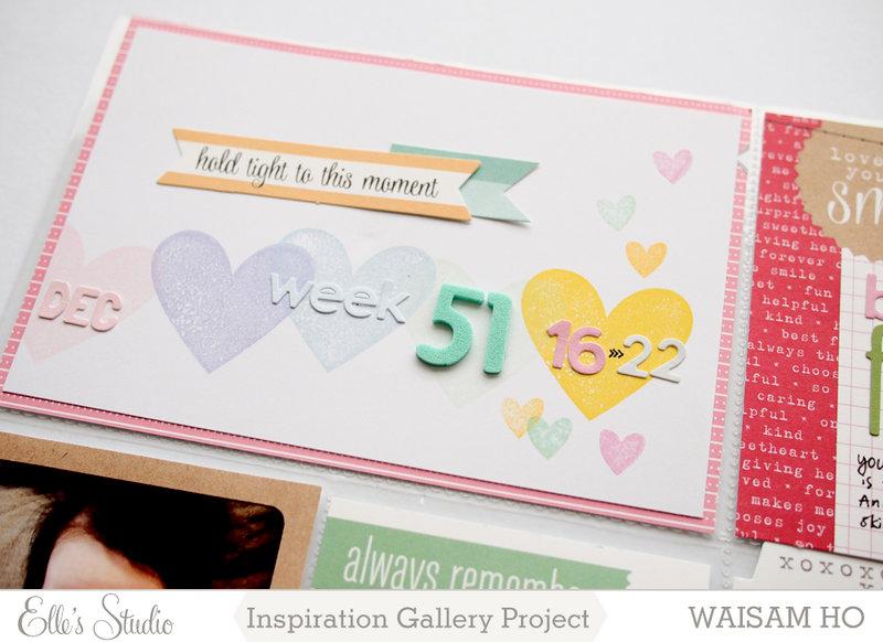Project Life Week 51 *Elle's Studio*