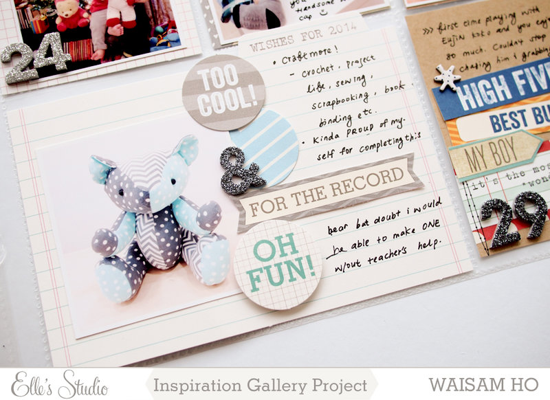 Project Life Week 52 *Elle's Studio*