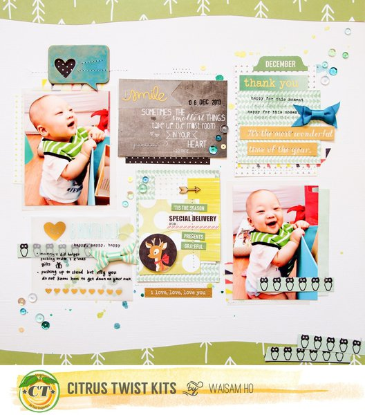 Hi 8 Month Old *Citrus Twist Kits*