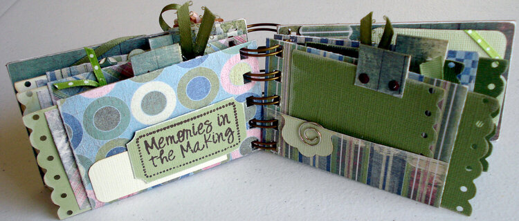 Memories Mini Album, by the page