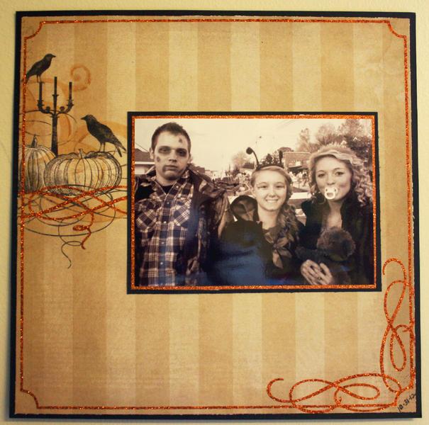 Ryan, Kyla and Josie-Halloween 2012
