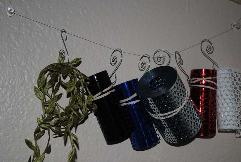 Inexpensive ribbon storage