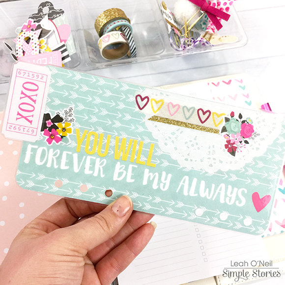 Love and Adore Planner Bookmark