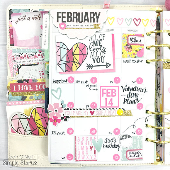 February 2017 Monthly Layout - Carpe Diem Planner