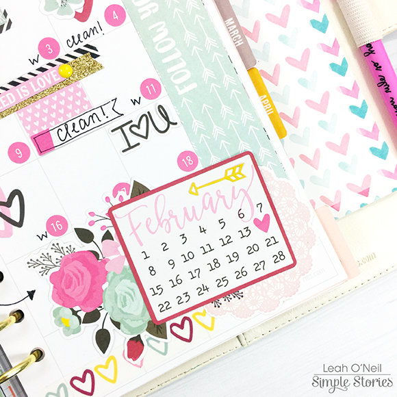February 2017 Monthly Layout - Carpe Diem Planner