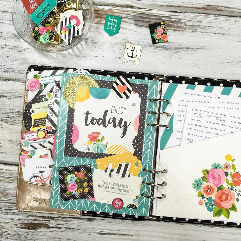 Custom Carpe Diem Planner Dividers