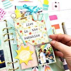Pocket Pages in my Carpe Diem Planner