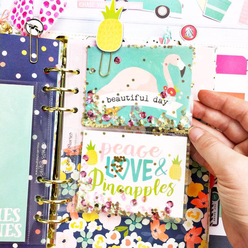 Pocket Pages in my Carpe Diem Planner