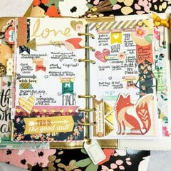 Monthly Planner Layout - Foxy