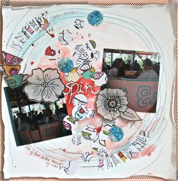 Spin - Wilna's Art Class