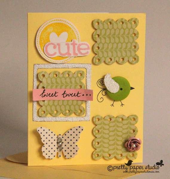 A cute card..