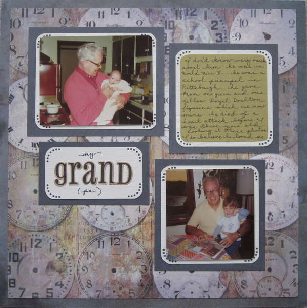 first layout -- grandpa