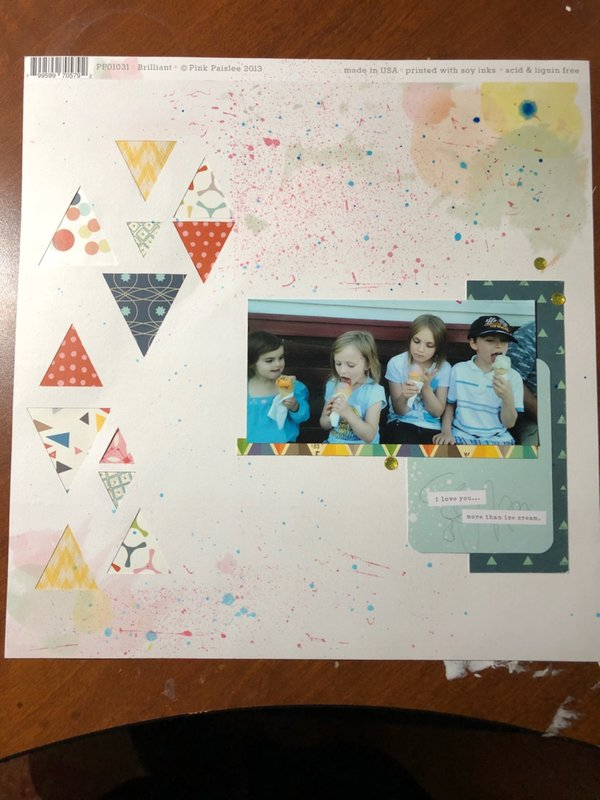 More than Ice Cream - Crafter's Choice Challenge NSD '18