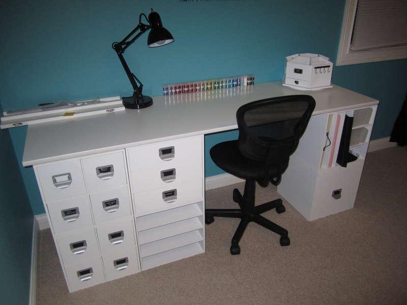 The Beginnings of my Scraproom!