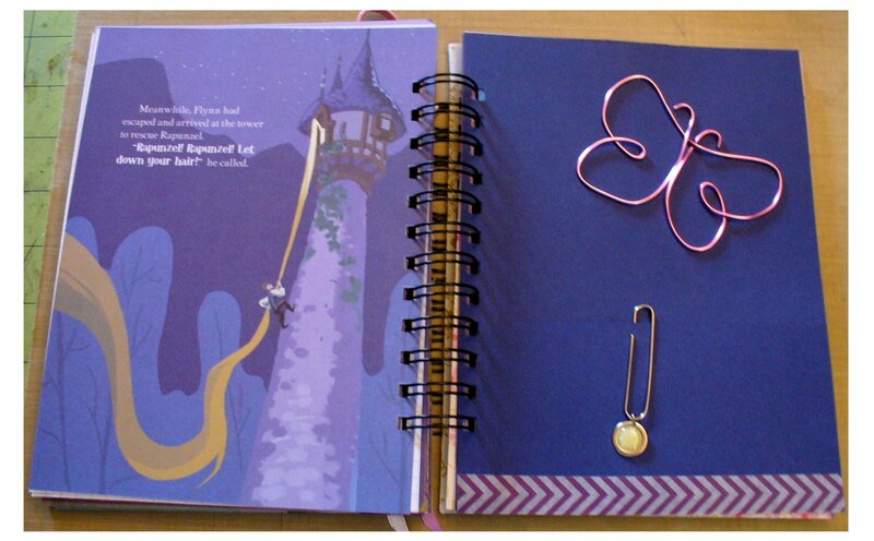 Tangled Spiral Notebook Page