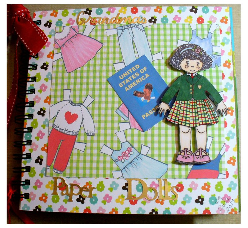 Internationa Grandma's Paper Doll Book