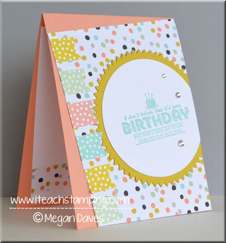 DIY: Birthday Card (Using Sweet Sorbet)
