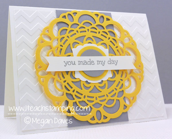 Simple Greeting Card: You Made My Day
