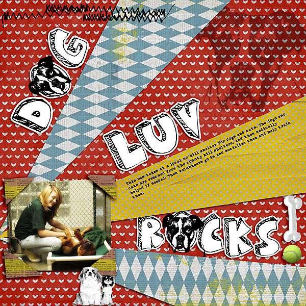 Dog Luv Rocks!