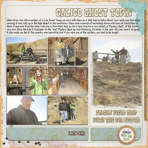 Calico Ghost Town A