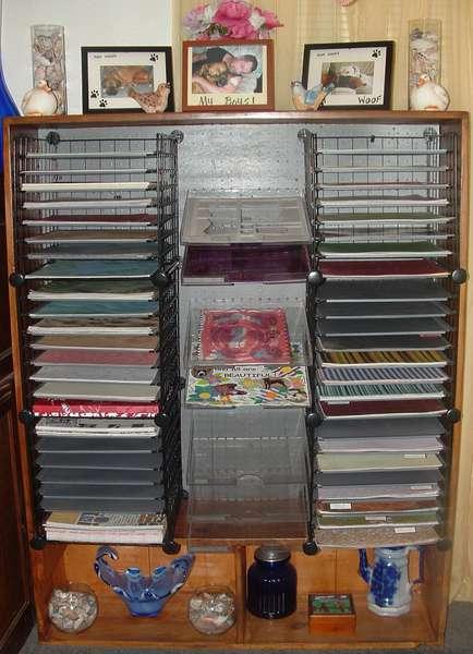 My paper rack