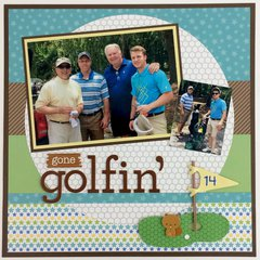 Gone Golfin Layout