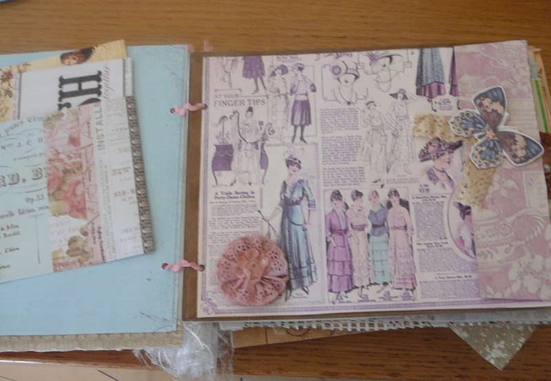 double page graphic 45,a lady's diary medium album.