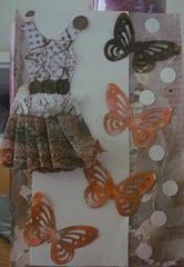 dressform vintage card.