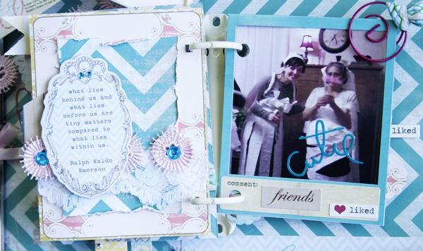 Altered Frame Mini Album