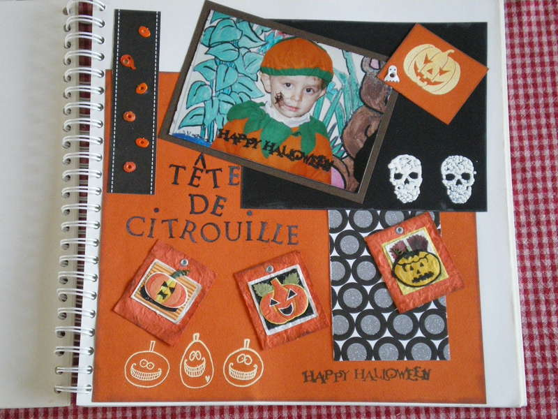 Head of pumpkin...t�te de citrouille !