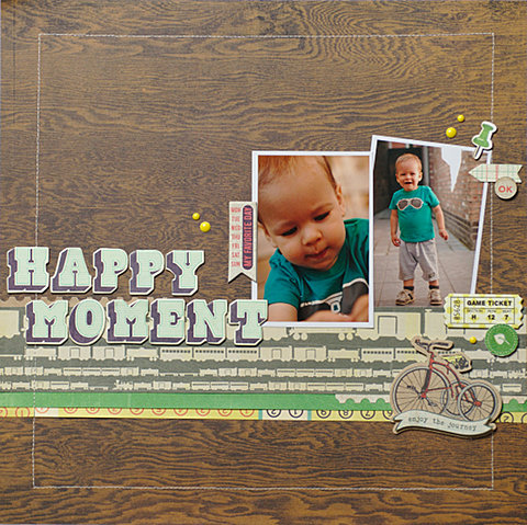 Happy Moment | BasicGrey Hey Boy collection