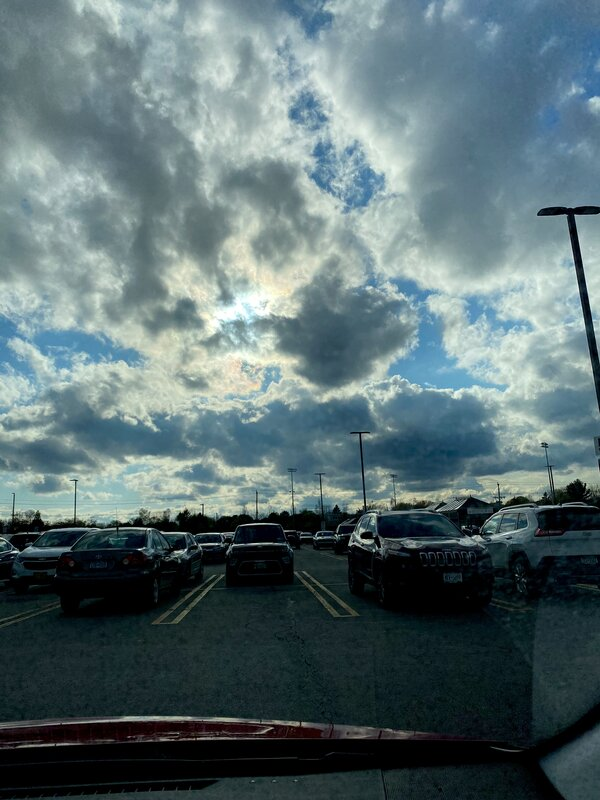 Interesting sky!