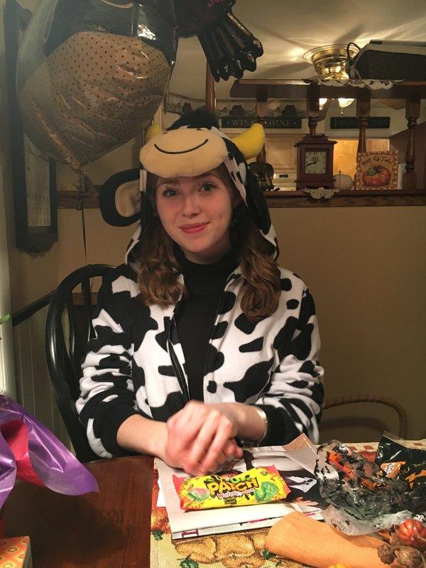 My pretty cow!