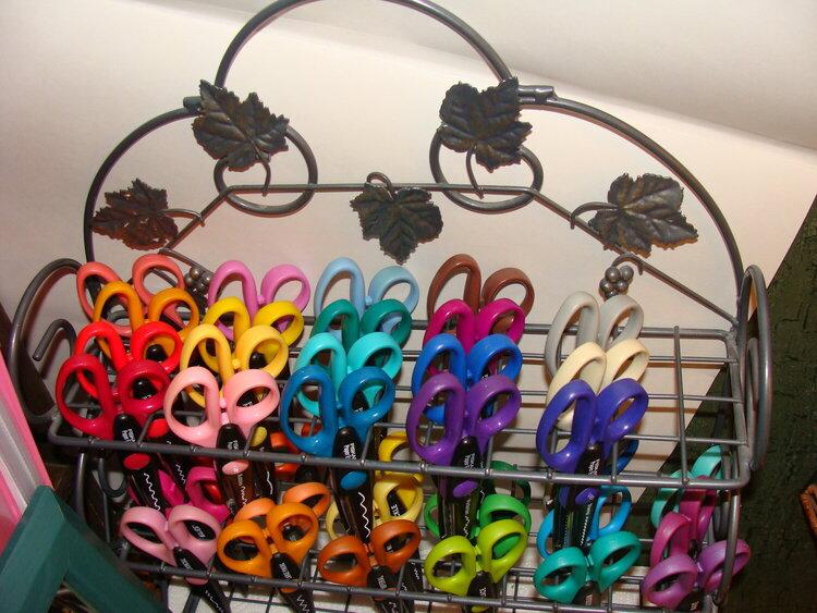 Scissors Rack