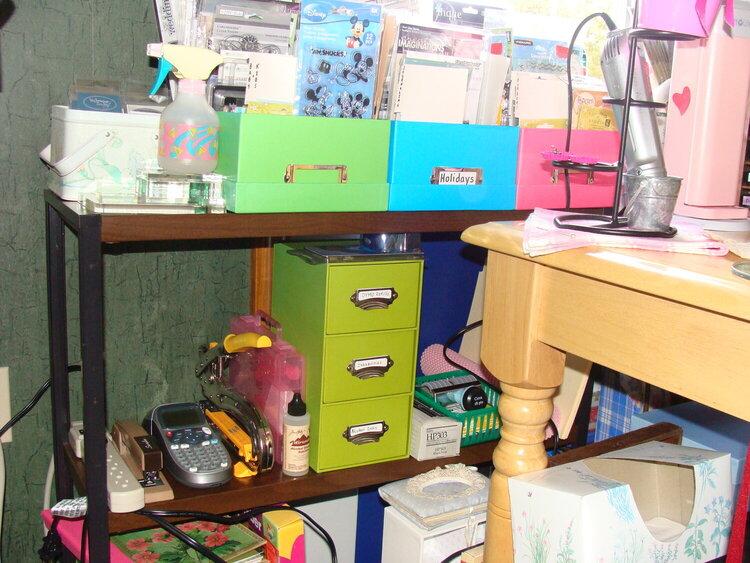 Re-arranged Scraproom