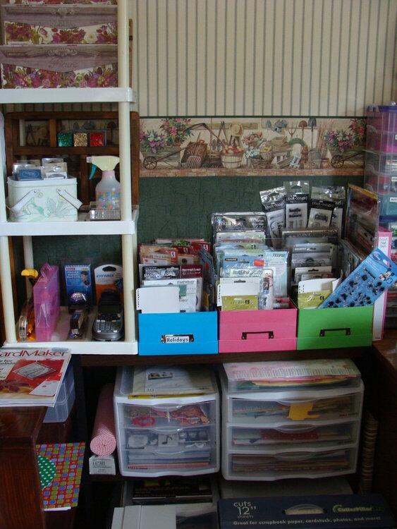 My Scrapbooking Room Jan 8, 2012