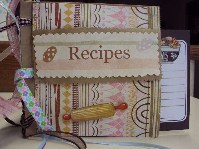 Paper Bag Recipe Book