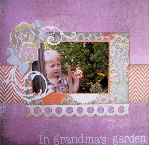 In grandma's garden