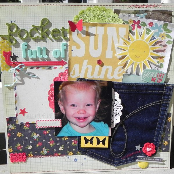 CHA Challenges #4  and #9  Pocket full of Sunshine