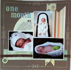 Baby one month
