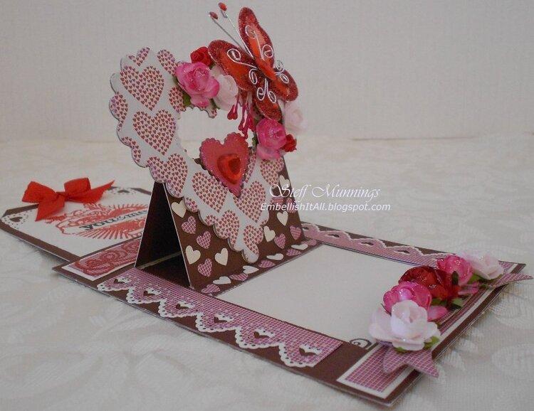 Surprise Pop-up Valentine's Day card