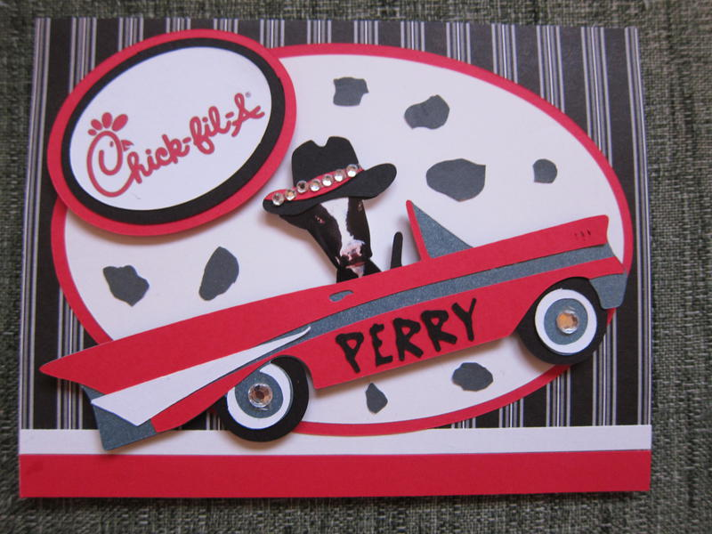 Chick-fil-A Birthday Card