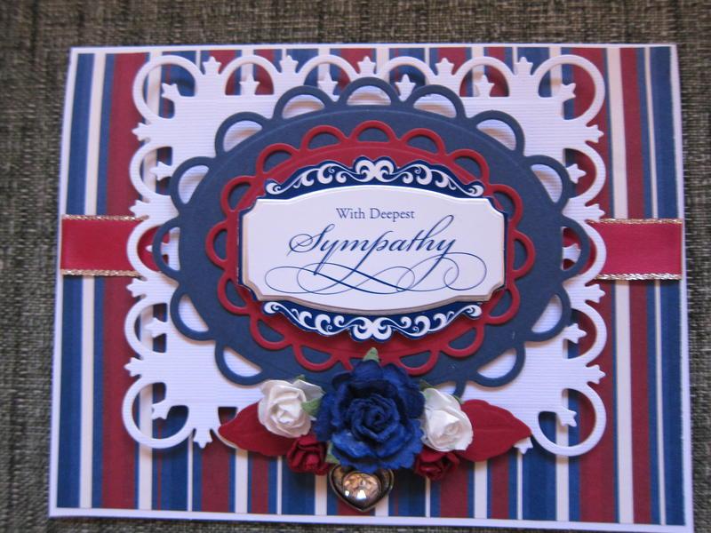 Patriotic Sympathy Card